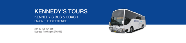 Kennedy's Bus Tour and Service Logo